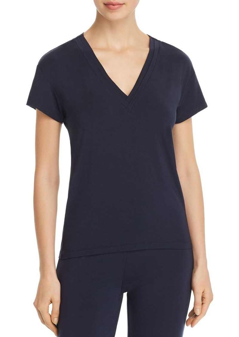 Calvin Klein Flirty Lounge Short-Sleeve V-Neck Tee