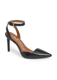 Calvin Klein Raffaela Ankle Strap Pump (Women)