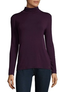 Calvin Klein Ray Span Turtleneck Top