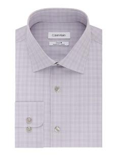 Calvin Klein Regular-Fit Check Dress Shirt
