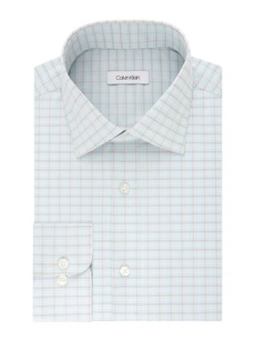 Calvin Klein Regular-Fit Checkered Dress Shirt