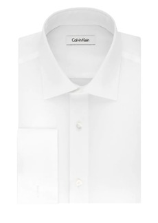Calvin Klein Regular Fit French Cuff Dress Shirt