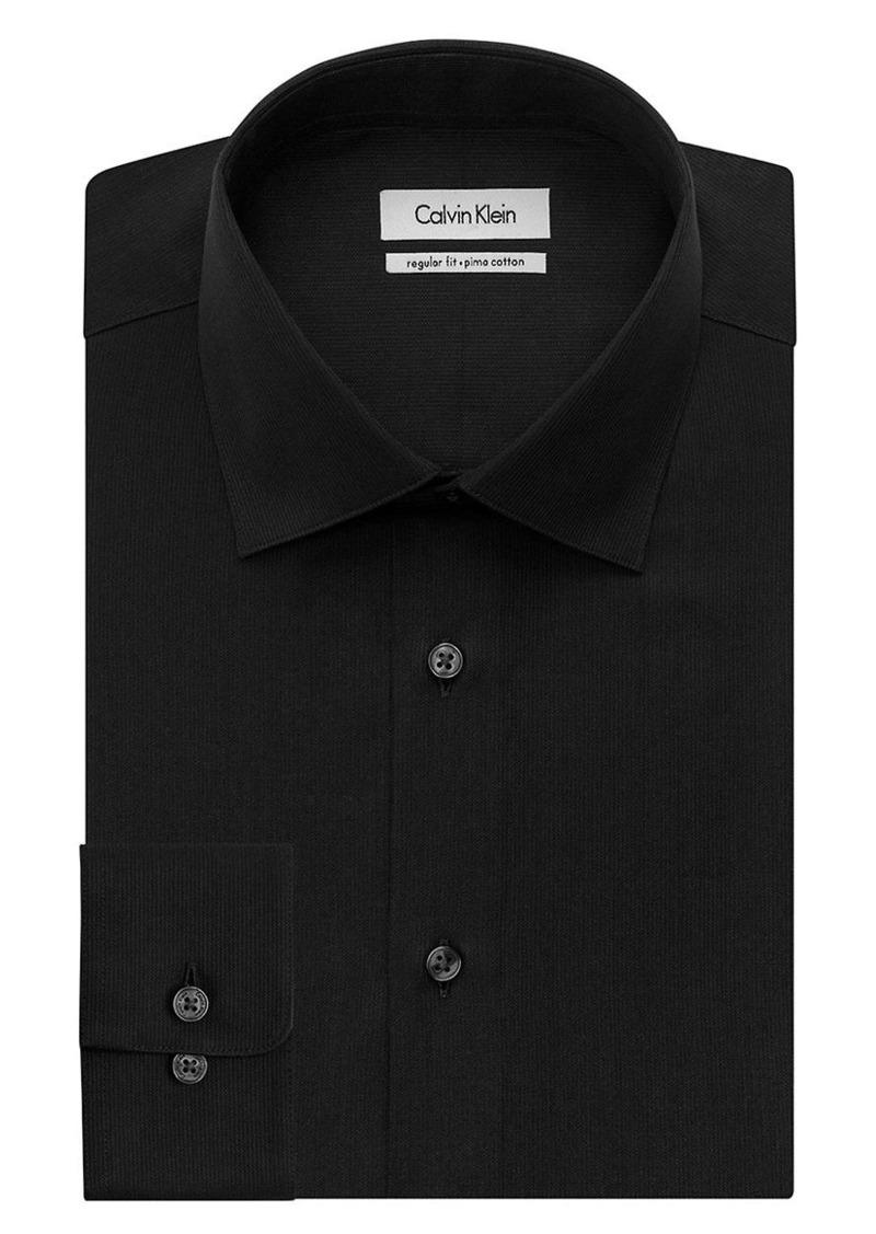 Calvin Klein Calvin Klein Regular Fit Pima Dress Shirt