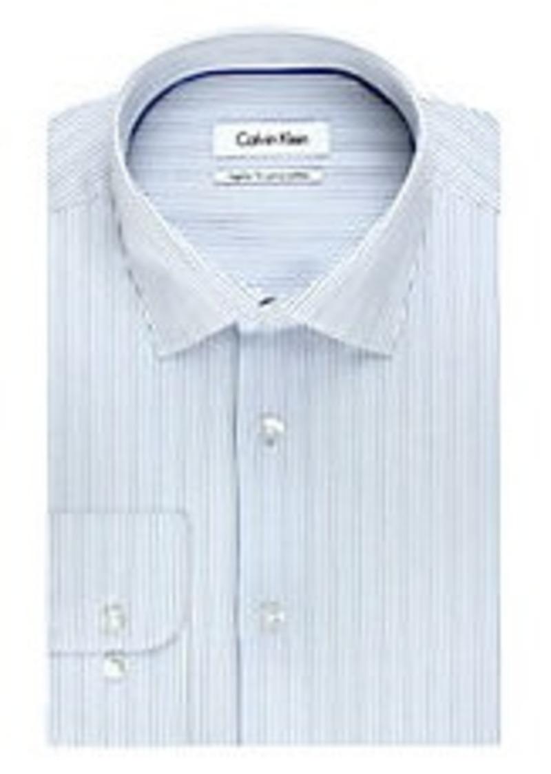 Calvin Klein Calvin Klein Regular Fit Pima Stripe Dress