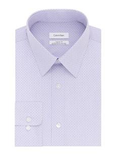 Calvin Klein Regular Fit Printed Dress Shirt