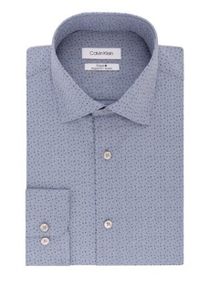 Calvin Klein Regular-Fit Printed Dress Shirt