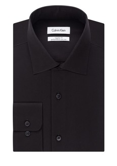 Calvin Klein Regular Fit Solid Dress Shirt