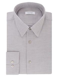 Calvin Klein Regular-Fit Textured Dress Shirt