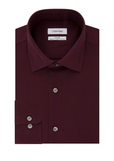 Calvin Klein Regular-Fit Textured Dress Shirt