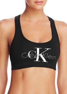 Calvin Klein Retro Calvin Lined Bralette #QF1643