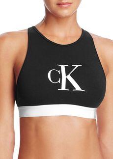Calvin Klein Retro Calvin Unlined Bralette #QF1642