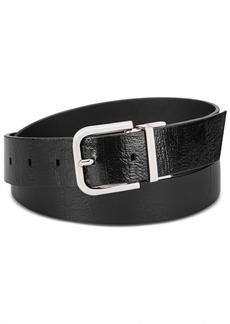 Calvin Klein Reversible Embossed Leather Belt