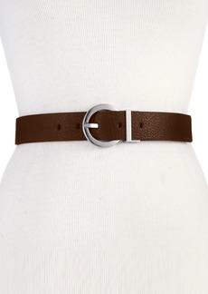 Calvin Klein Reversible Round-Buckle Belt