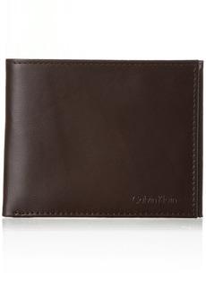 Calvin Klein RFID Blocking Leather Bifold Wallet