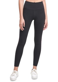 Calvin Klein Performance Rhinestone-Embellished High-Waist Leggings
