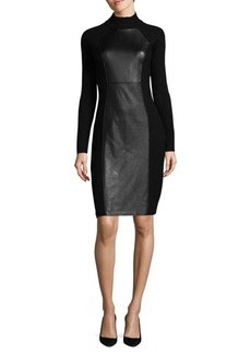 Calvin Klein Rib-Knit Bodycon Dress