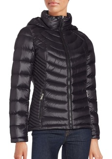 Calvin Klein Ribbed Down Jacket