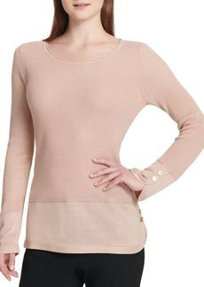 Calvin Klein Ribbed Pullover Sweater