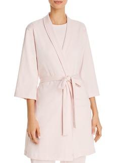 Calvin Klein Ribbed Robe