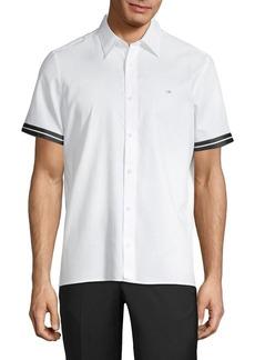 Calvin Klein Ringer Short-Sleeve Shirt