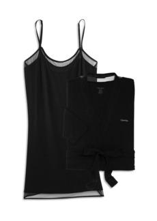 Calvin Klein Robe & Chemise Set