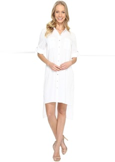 Calvin Klein Roll Sleeve Tunic Dress