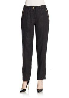 Calvin Klein Roll Tab-Cuff Pants