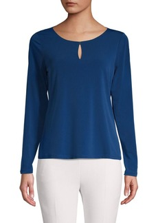 Calvin Klein Roundneck Long-Sleeve Top