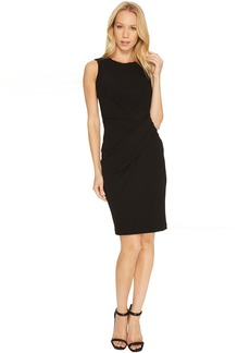 Calvin Klein Ruched Sheath Dress CD7C16AX