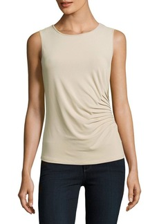 Calvin Klein Ruched Solid Top