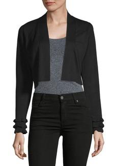 Calvin Klein Ruffle-Sleeve Shrug