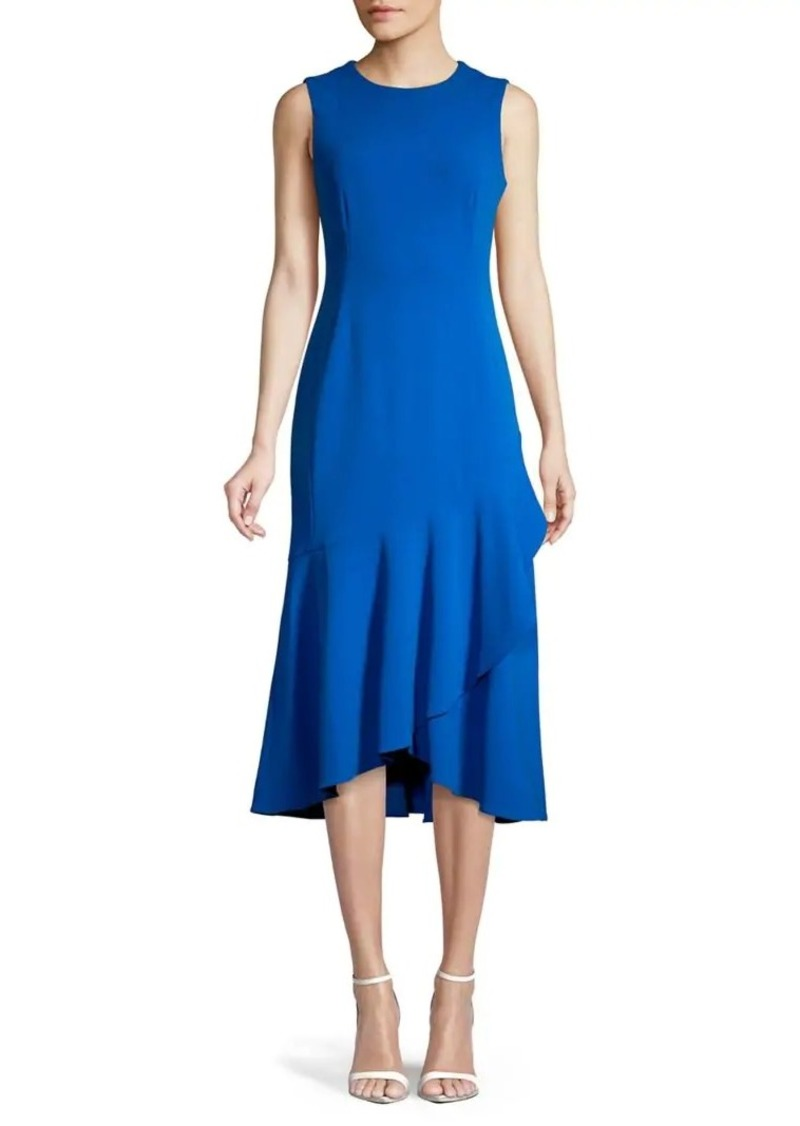 Calvin Klein Ruffled A-Line Dress