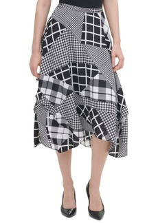 Calvin Klein Ruffled Midi Skirt