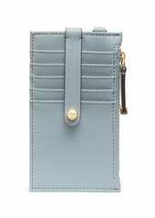 Calvin Klein Saffiano Card Case Wristlet TWILIGHT BLUE