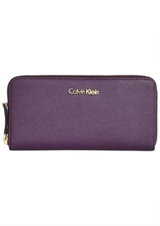 Calvin Klein Continental Zip Around Wallet