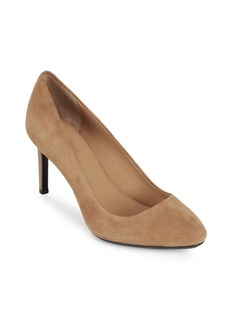 Calvin Klein Salsha Leather Pumps