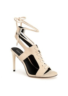 "Calvin Klein ""Santos"" Lace Up Sandals"