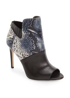 Calvin Klein Sarine Peep Toe Bootie (Women)