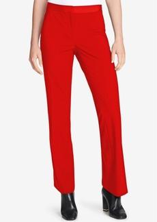 Calvin Klein Satin-Stripe Pants, Regular & Petite