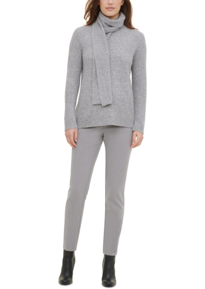 Calvin Klein Scarf Sweater