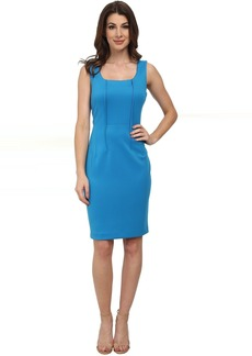 Calvin Klein Scoop Neck Sheath Dress