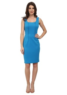 Calvin Klein Scoop Neck Sheath Dress