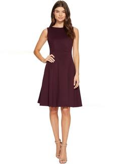 Calvin Klein Scuba Fit & Flare Dress CD7M18AW