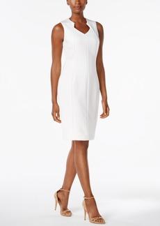 Calvin Klein Scuba Sheath Dress