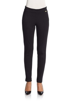 Calvin Klein Seam-Detail Stretch Pants