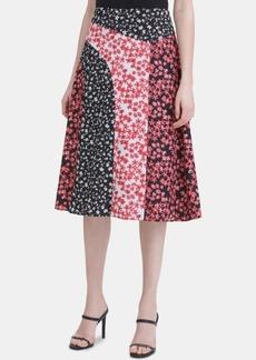 Calvin Klein Seamed A-Line Skirt
