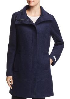 Calvin Klein Seamed Boucl� Coat