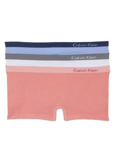 Calvin Klein Seamless Hipster Briefs (3-Pack)