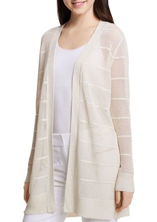 Calvin Klein Semi-Sheer Open Cardigan