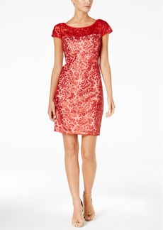 Calvin Klein Sequined Sheath Dress